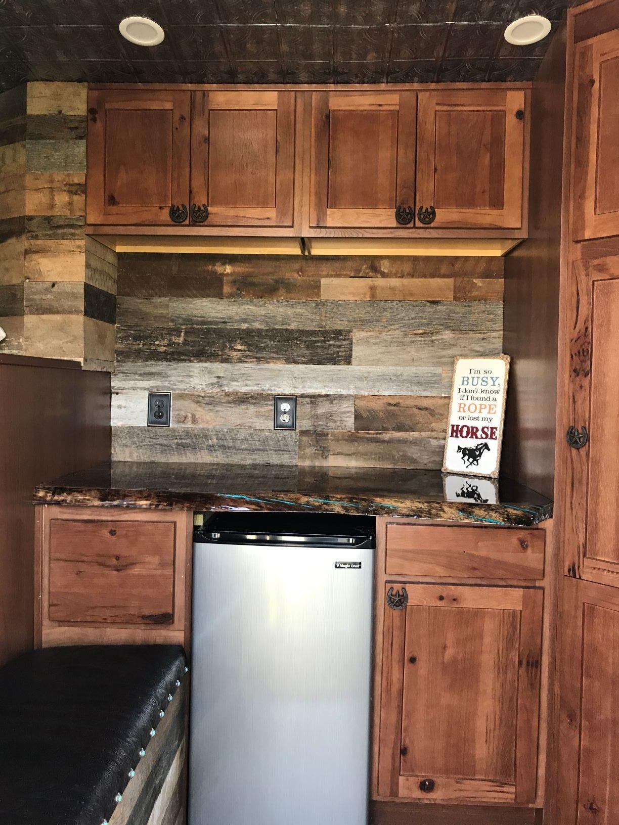 Horse Trailer Living Quarters Am Kitchen Amp Bath