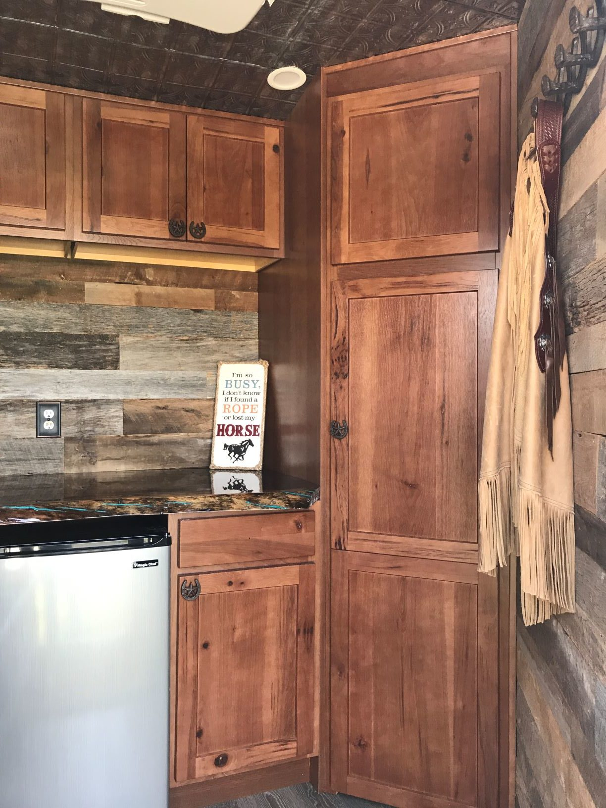 Horse Trailer Living Quarters Am Kitchen Amp Bath