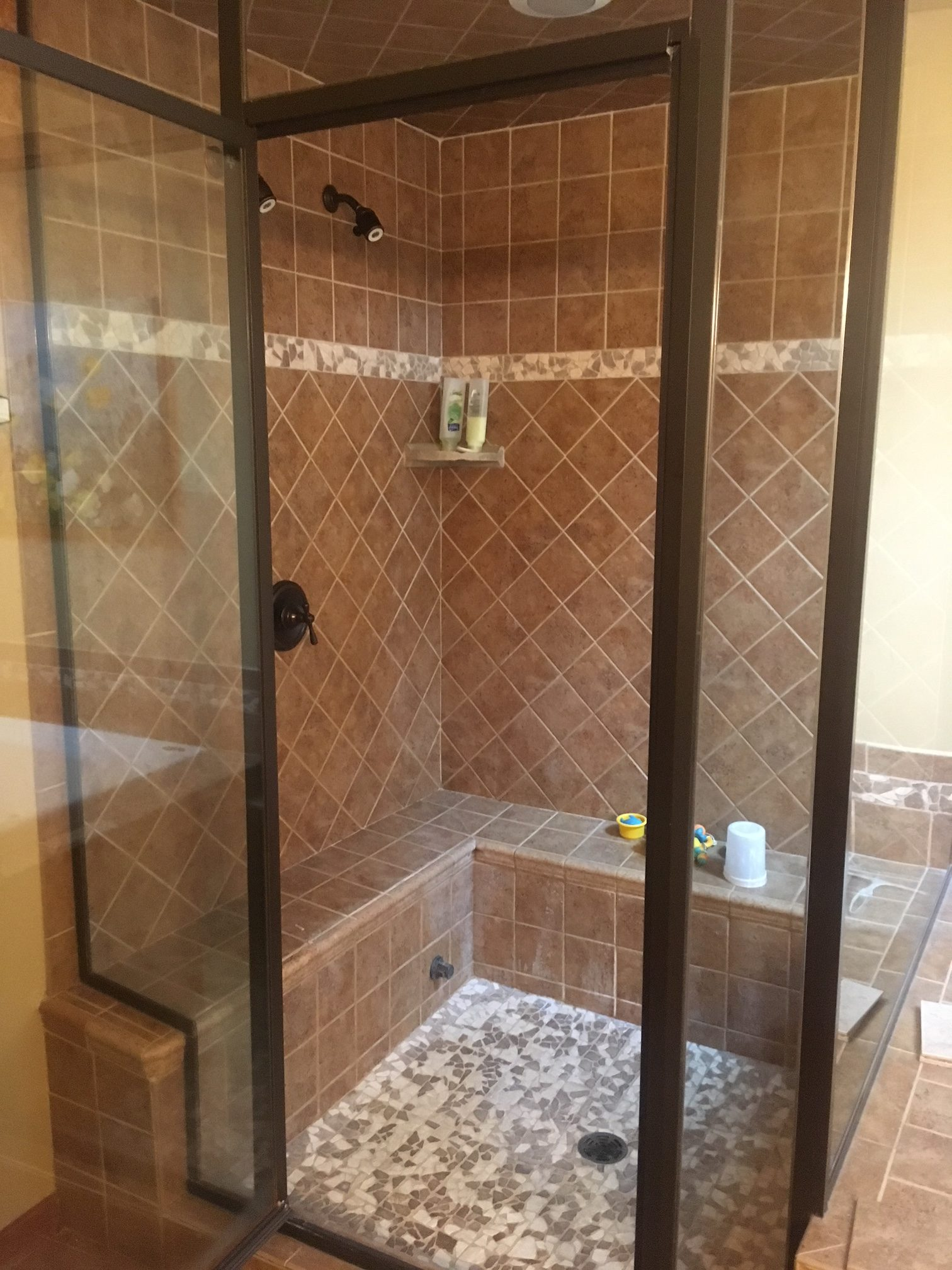 Master Bath Steam Shower Am Kitchen Amp Bath